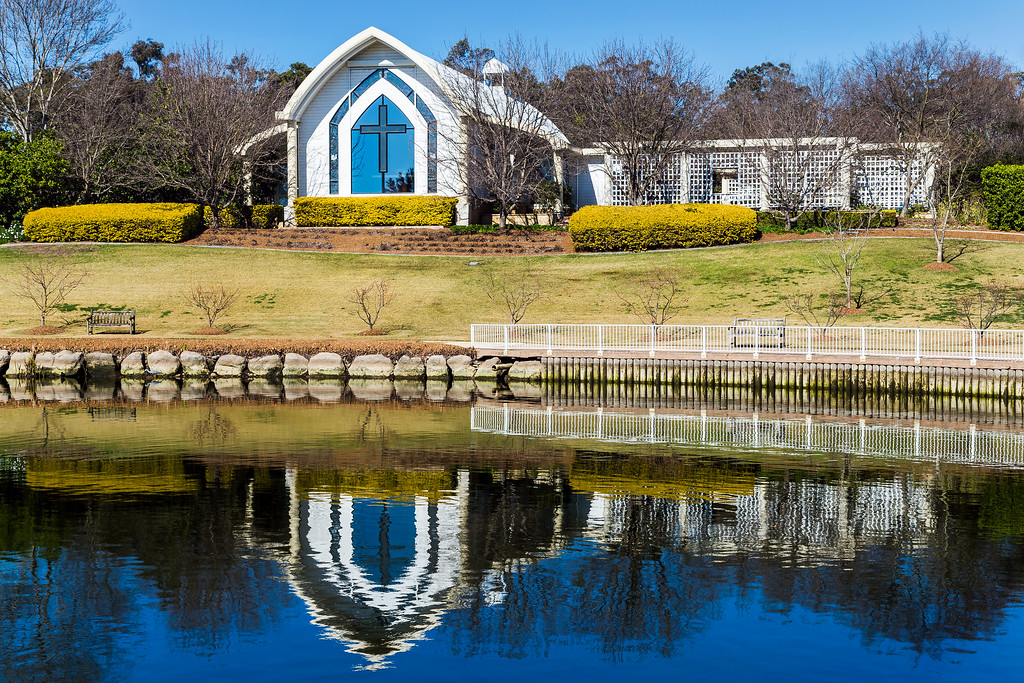 The Hunter Valley Gardens Chapel, Pokolbin