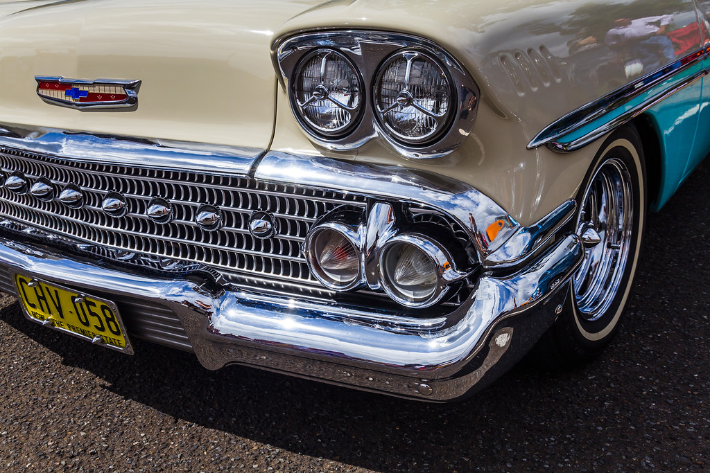2014 Nostalgia Festival - 1958 Chevrolet Biscayne