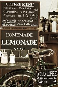 Coffee and Homemade Lemonade