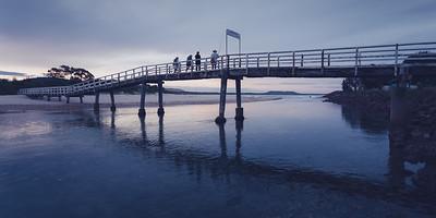 The Crescent Head Footbridge to Killick Beach