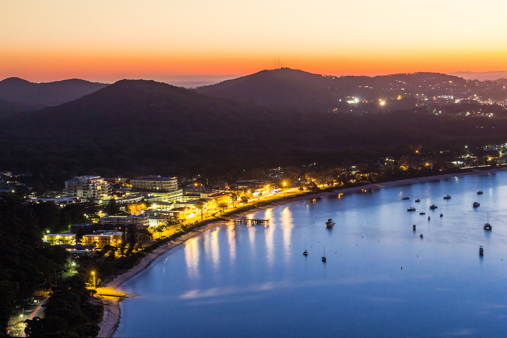 Sunset at Shoal Bay, Port Stephens