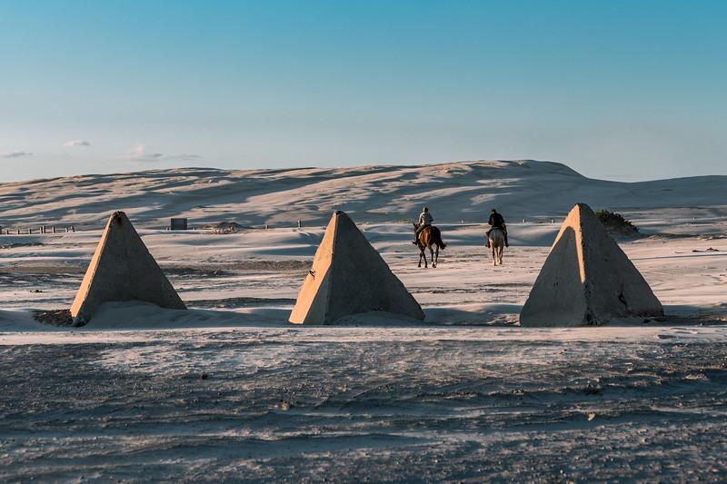 Horseback in the Stockton Sand Dunes