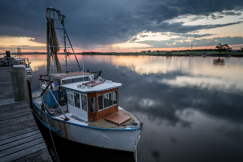 Shrimp Boats on the Hunter River