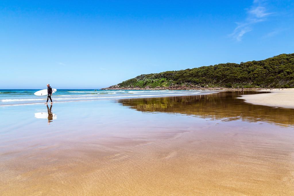 One Mile Beach, Port Stephens