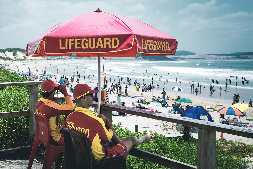 Lifeguards on Duty