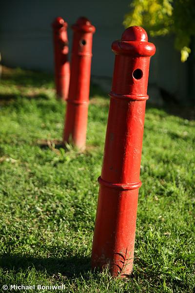 Pedestrian Barrier, Sydney Suburbs, NSW. 2006.