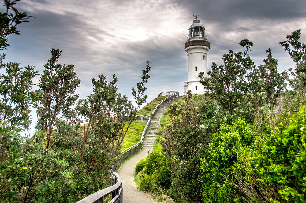 Lighthouse at Byron Bay, New South Wales, Australia