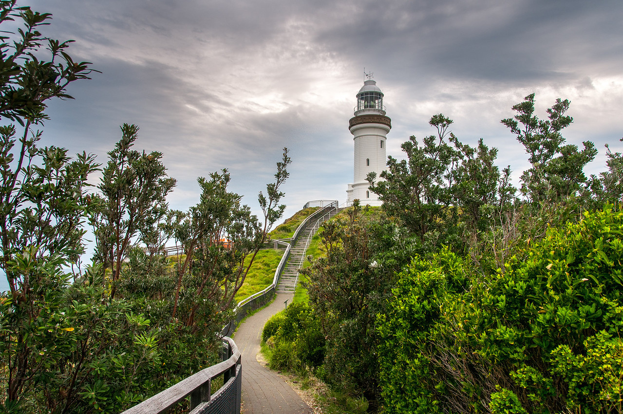 Byron Bay Lighthouse in New South Wales, Australia