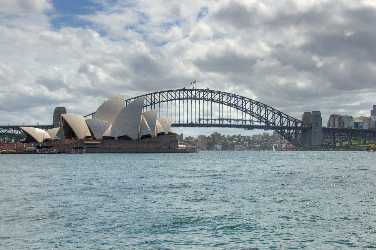 Opera House and Harbor Bridge HDR