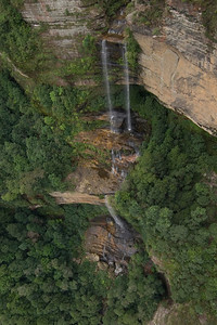 Waterfall 8, Blue Mountains National Park - NSW, Australia