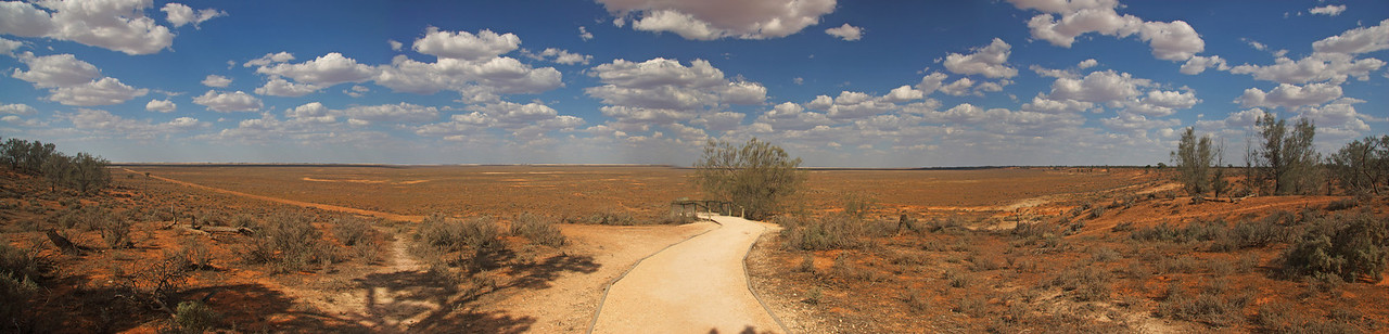 Mungo Lake Panorama