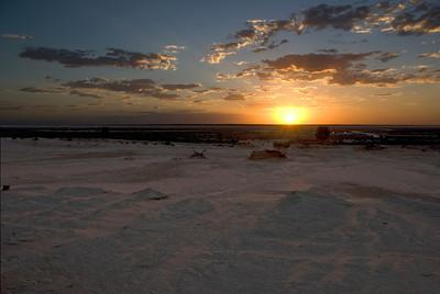 Sunset at the China Wall - Mungo National Park, New South Wales, Australia