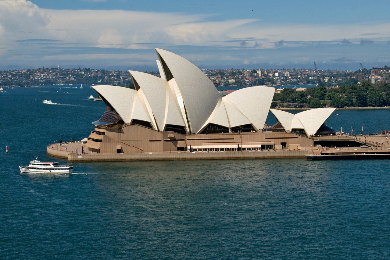 Opera House From Bridge - Sydney, NSW, Australia