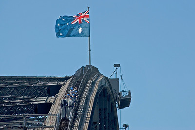 Top of Harbor Bridge - Sydney, NSW, Australia