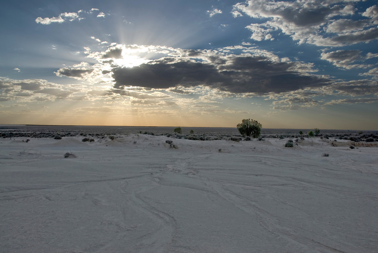 Sunset at Over Mungo - Mungo National Park, New South Wales, Australia