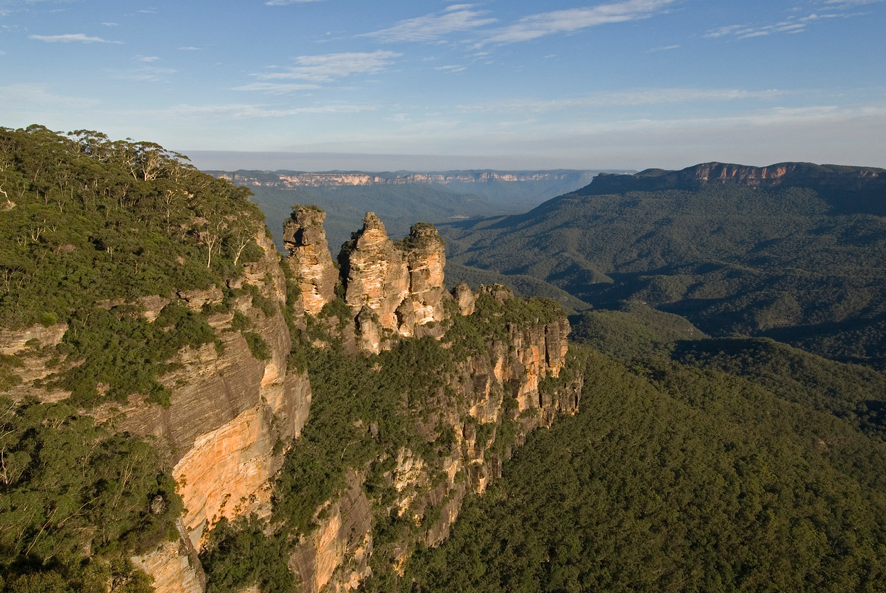 Three Sisters 2, Blue Mountains National Park - NSW, Australia