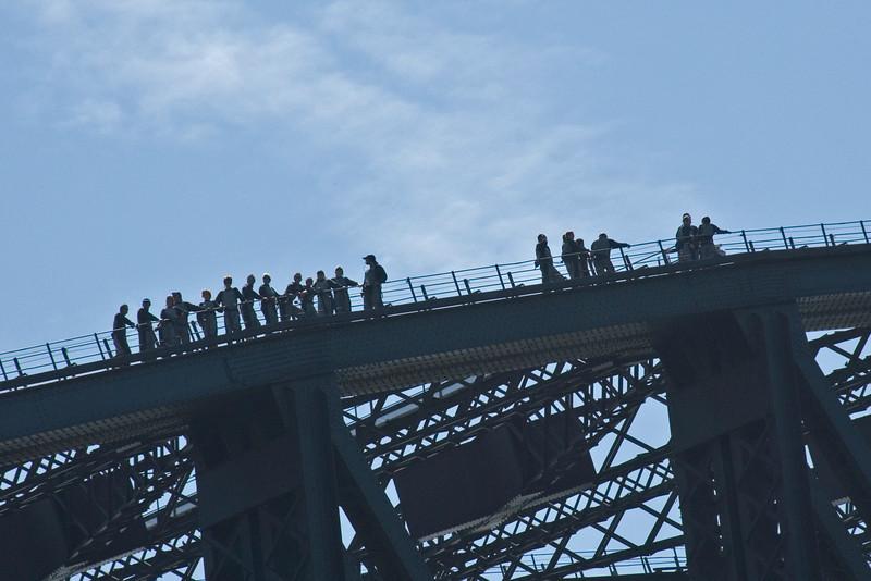 Sydney Harbor Bridge Climbers - Sydney, New South Wales, Australia