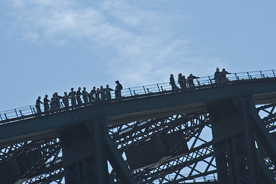 Sydney Harbor Bridge Climbers - Sydney, New South Wales, Australia