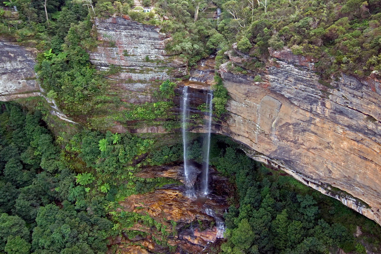 Waterfall, Blue Mountains National Park - NSW, Australia