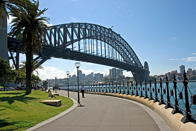 Below Harbor Bridge - Sydney, NSW, Australia