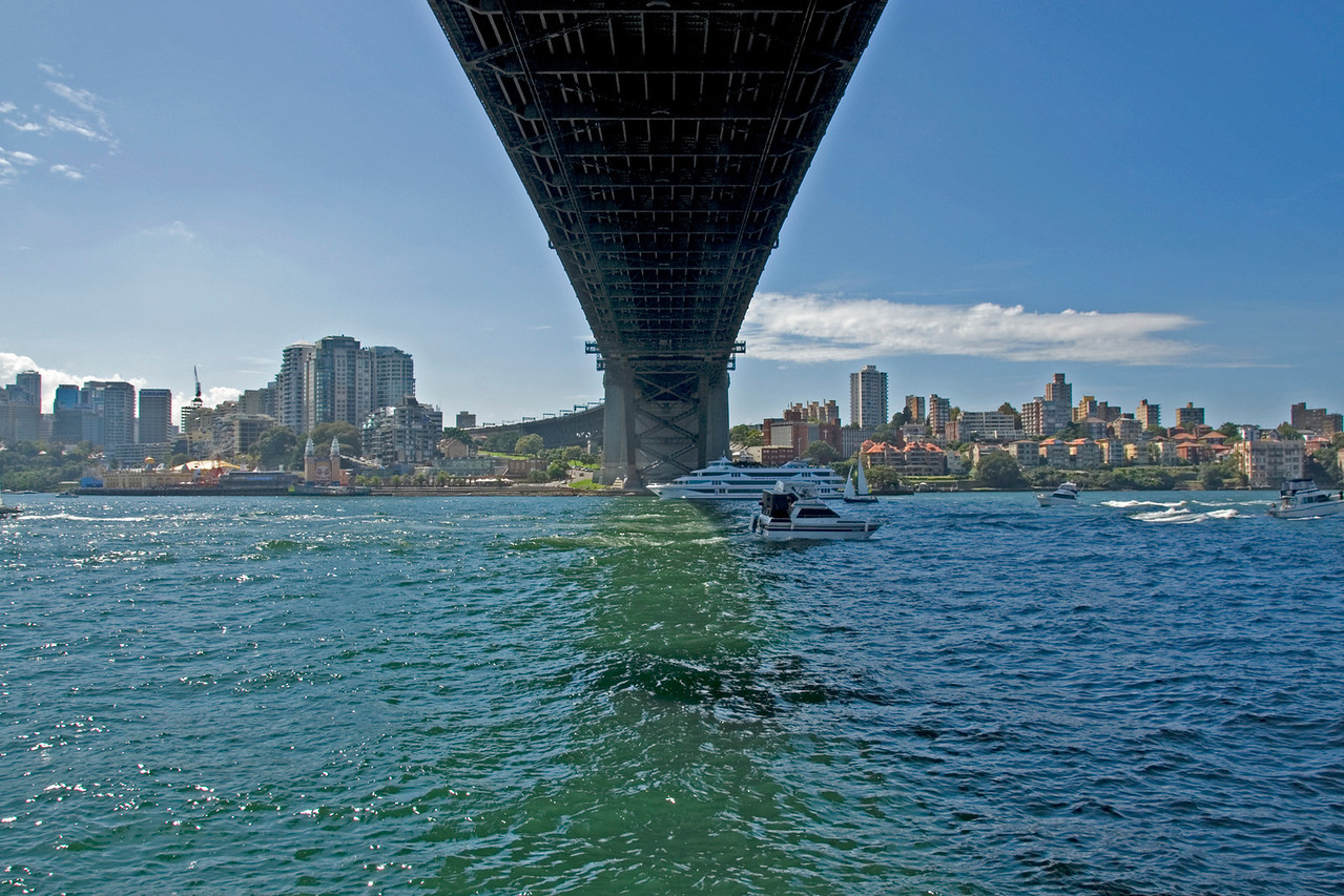 Under the Harbor Bridge - Sydney, NSW, Australia