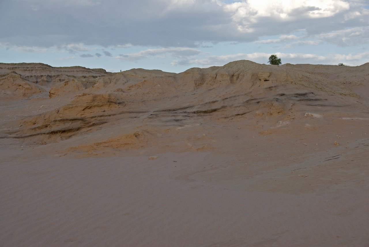 Carbon Layers in Strata - Mungo National Park, New South Wales, Australia.jpg