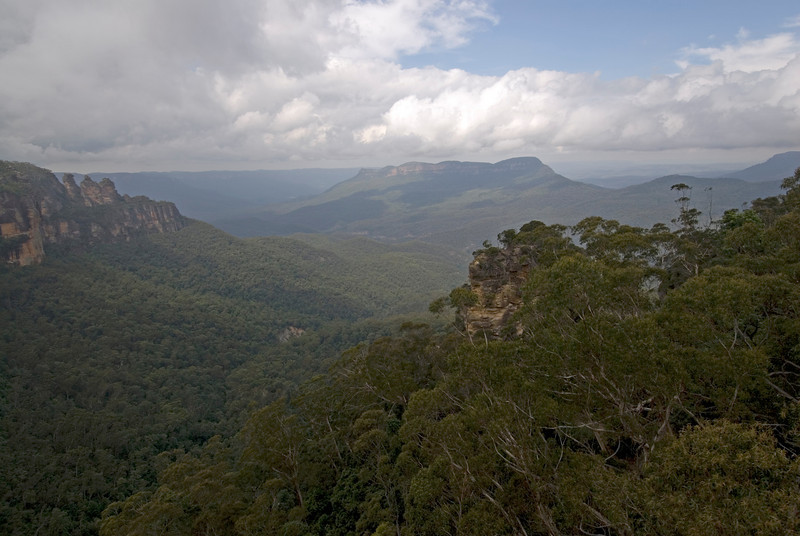 Clouds Over Valley, Blue Mountains National Park - NSW, Australia