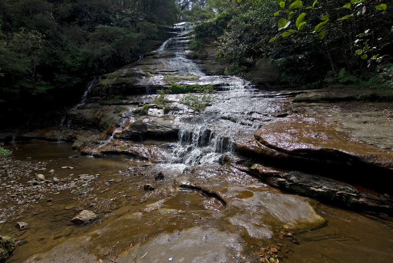 Waterfall 7, Blue Mountains National Park - NSW, Australia