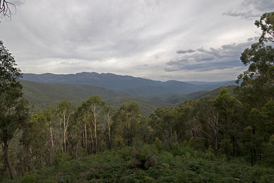 View from Kosciusko National Park - New South Wales, Australia