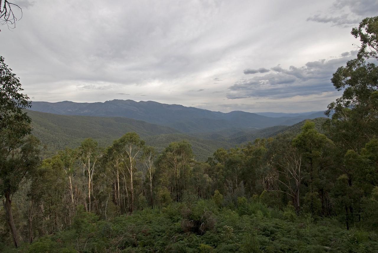 View from Kosciusko National Park - New South Wales, Australia