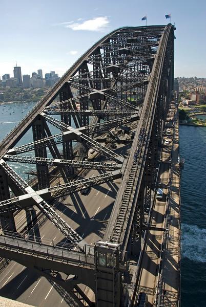 Bridge View from Pylon - Sydney, New South Wales, Australia.jpg