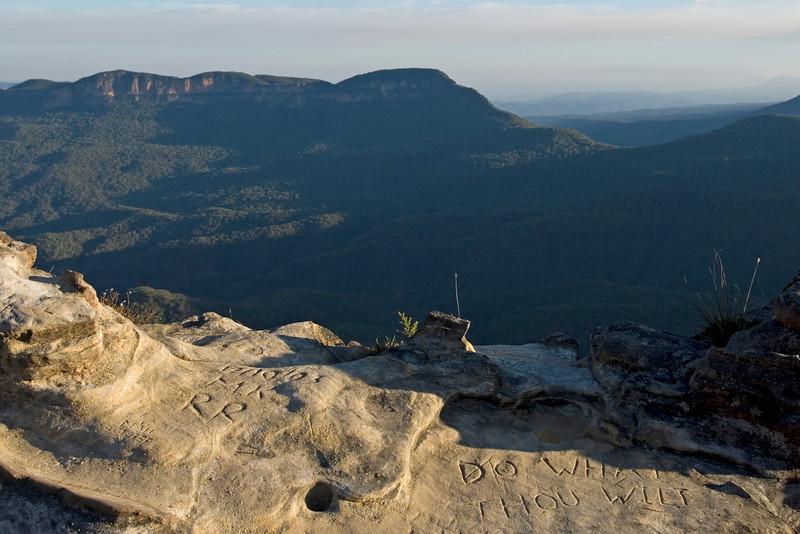 Do What Thou Wilt, Blue Mountains National Park - NSW, Australia