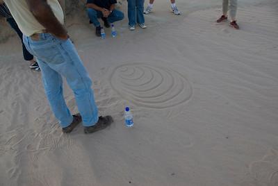 Grahams Sand Drawings - Mungo National Park, New South Wales, Australia