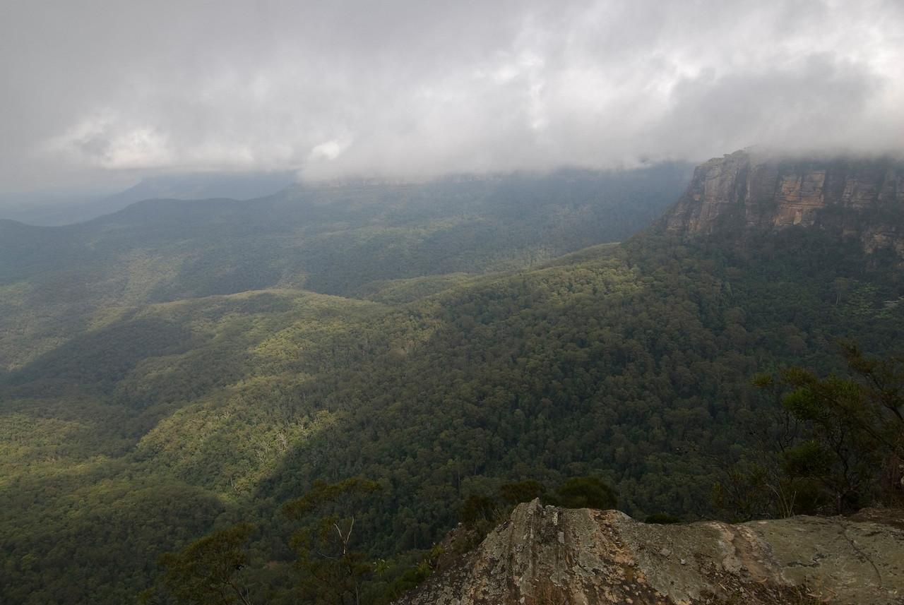 Cloudy Day 1, Blue Mountain National Park - NSW, Australia