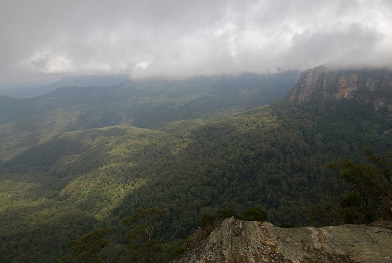 Cloudy Day 1, Blue Mountain National Park - NSW, Australia