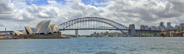 Harbor Bridge and Opera House HRD