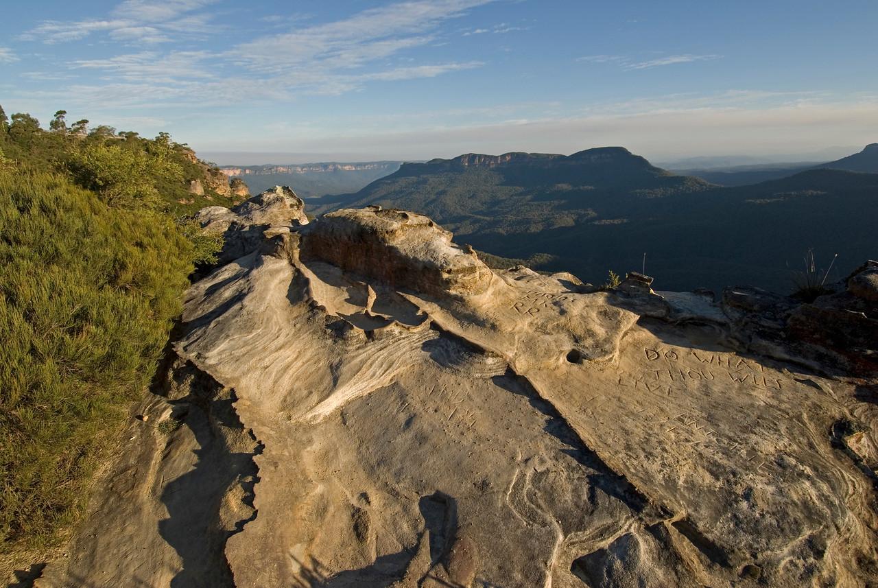 Outcrop, Blue Mountains National Park - NSW, Australia