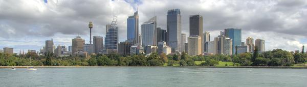 Sydney Skyline HDR