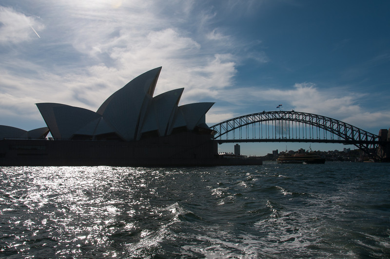 Sydney Harbour Bridge and Sydney Opera House - Sydney, Australia