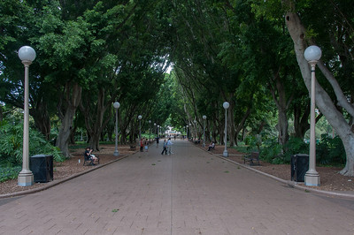 Hyde Park in Sydney, Australia