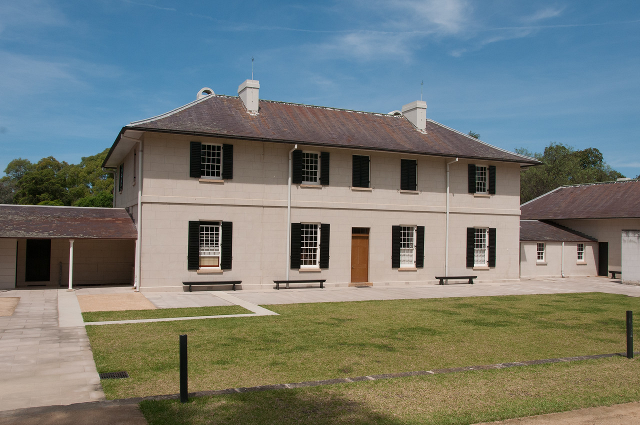 Old Government House in Parramatta, New South Wales, Australia