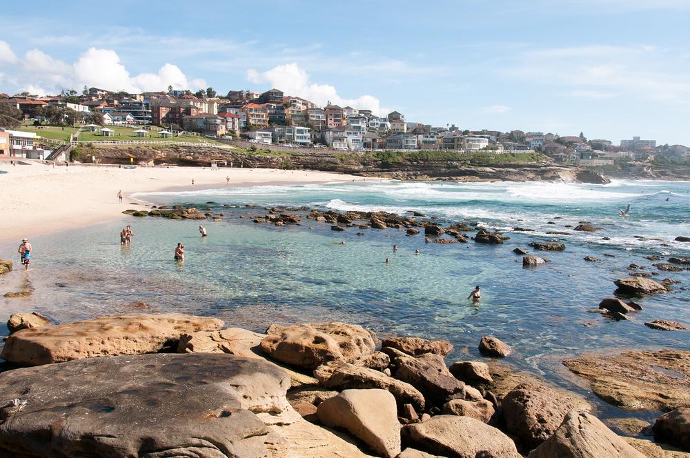 Bronte Beach in Sydney, Australia