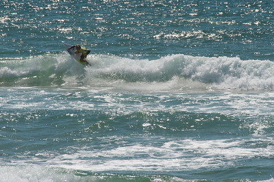 Surfers in Manly Beach, New South Wales, Australia