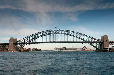 Sydney Harbour Bridge in Sydney, Australia