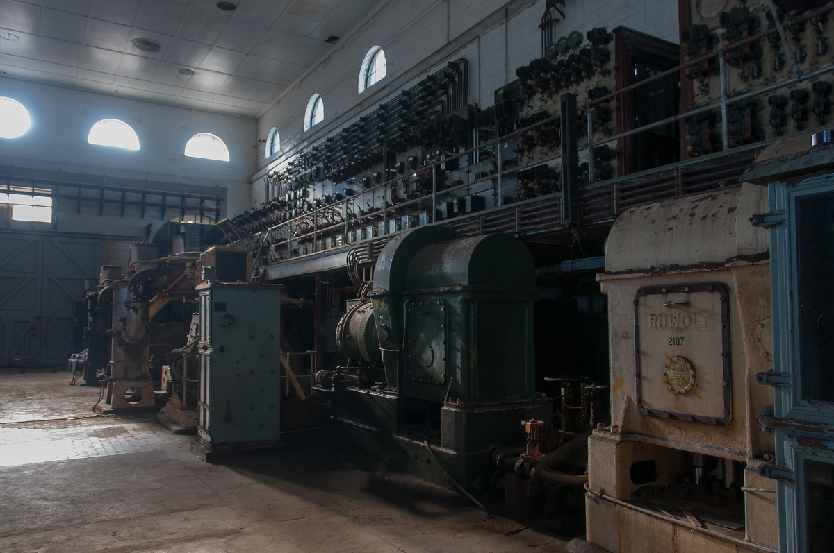 Abandoned Electrical Generating Station, Cockatoo Island, Australia