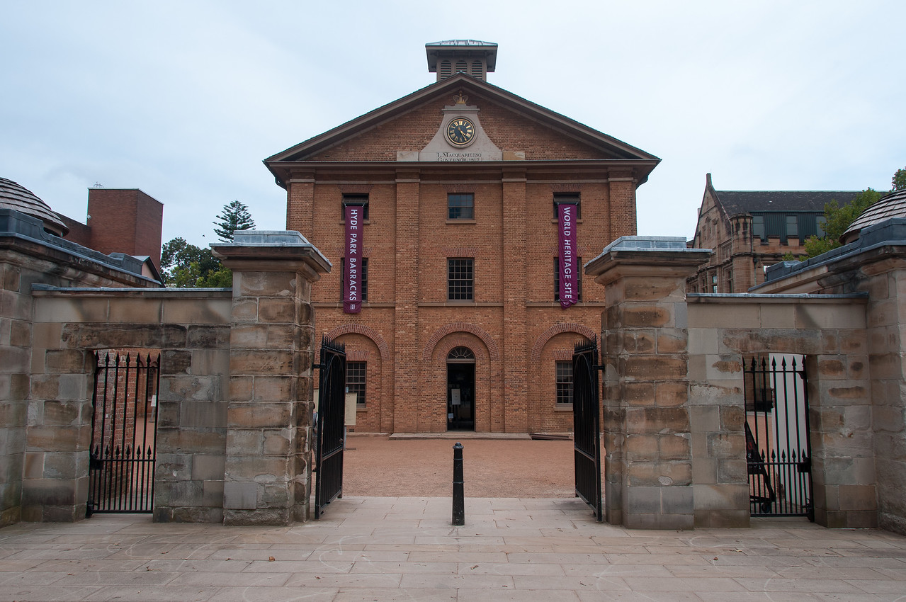 Hyde Park Barracks, Sydney, Australia