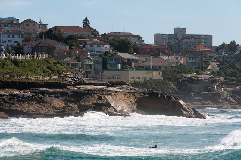 Tamarama Beach in New South Wales, Australia