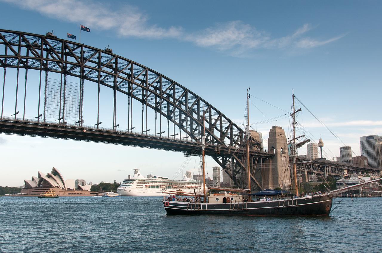 Sydney Harbour Bridge in Sydney, Australia