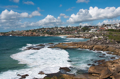 Tamarama Beach in New South Wales, Australia