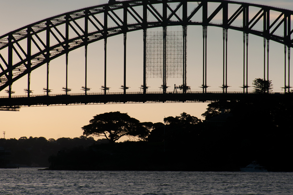 Sydney Harbour Bridge at Sunset, Australia